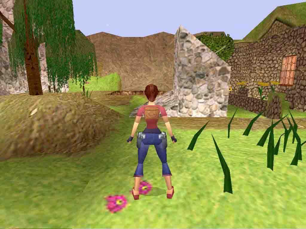 Lara with horse 1 2 3