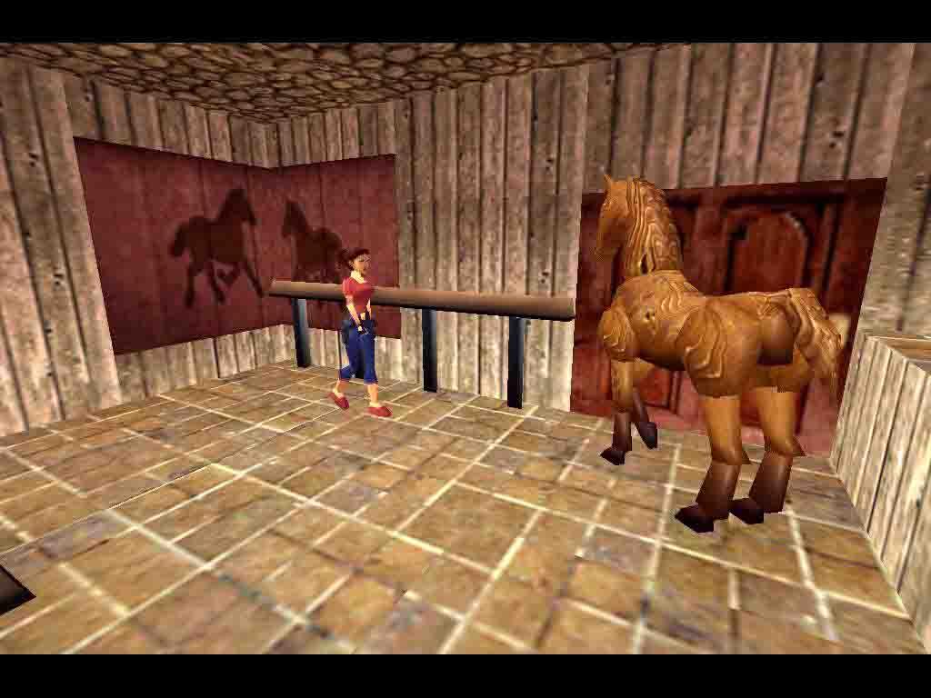 lara with horse